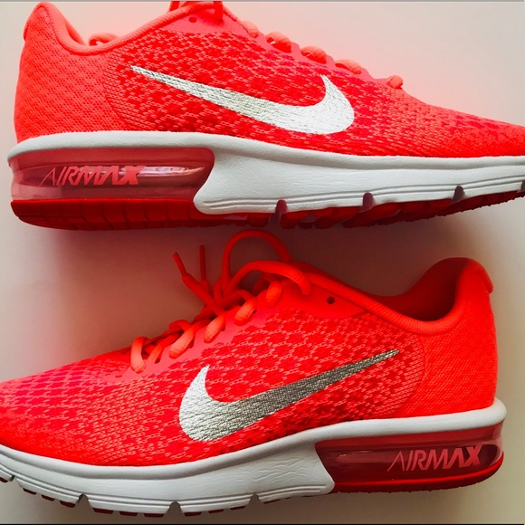 85c5f233e9 Nike Shoes | New Air Max Sequent 2 Gs Women Lava Glow Rare | Poshmark